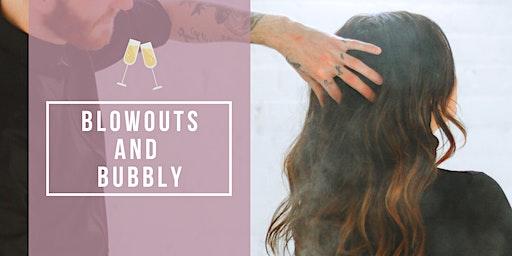Blowouts and Bubbly at Samantha James Hair Design