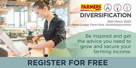 Farmers Weekly Diversification Event tickets