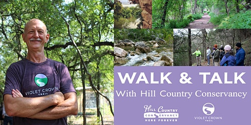 Walk-and-Talk on the Violet Crown Trail with HCC (Slaughter Lane Trailhead)