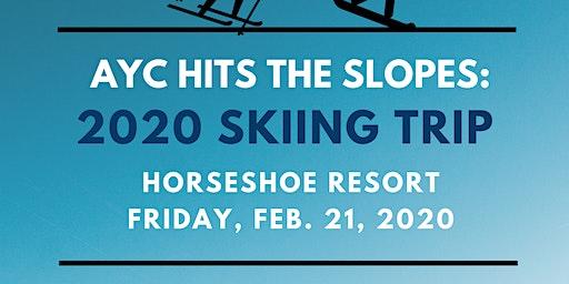 AYC Hits the Slopes: 2020 Skiing Trip