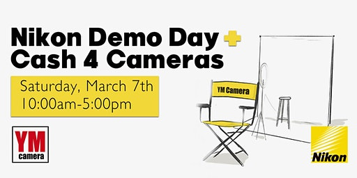 Nikon Demo Day + Cash for Cameras