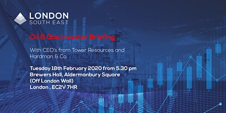 Oil & Gas Investor Briefing / Edison oil analyst, Hardman CEO, Tower Chair tickets