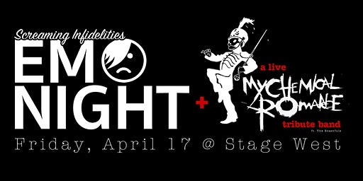 Emo Night at Stage West w/ live My Chemical Romance Tribute Band