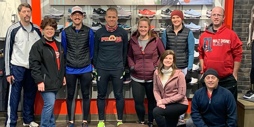 February New Balance Overland Park Running Club