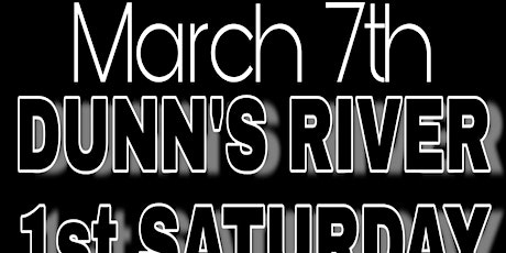 """1ST SATURDAY"" WITH DJKIRKY-C- @DUNNS RIVER ISLAND CAFE,TAMPA FLORIDA tickets"