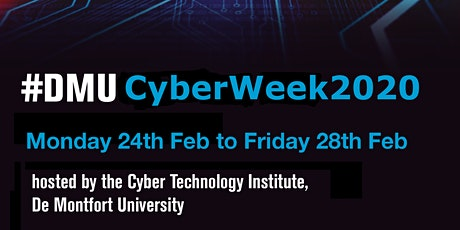 DMU CyberWeek 2020 tickets