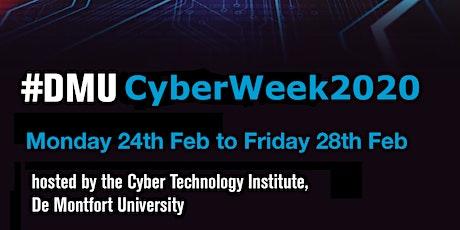 DMU CyberWeek 2020 tickets
