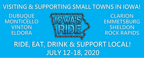 Iowa's Ride Camping on the RiseFest Grounds tickets
