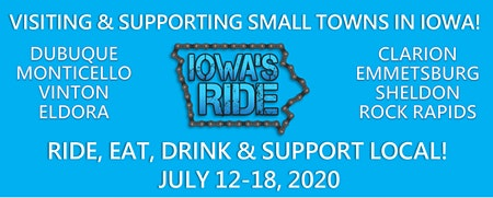 Iowa's Ride Camping on the RiseFest Grounds