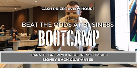 Beat The Odds At Business BootCamp #BEATTHEODDS tickets