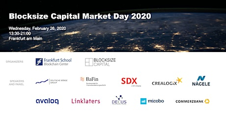 Blocksize Capital Market Day tickets