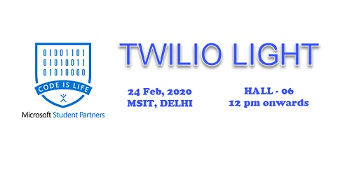 TWILIOLIGHT BY MLH