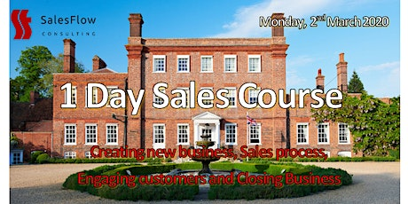 Sales Course  - Improve your Sales teams results - (1 day refresher course) tickets