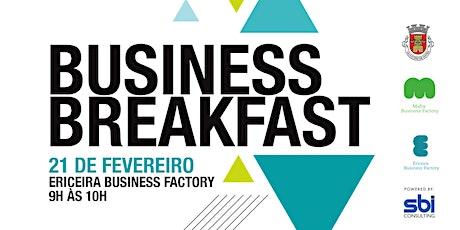 Business Breakfast bilhetes