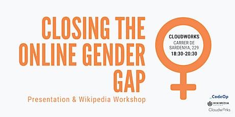 Closing  the Online Gender Gap tickets