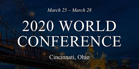 WORLD CONFERENCE - Cincinnati, OH  bilhetes