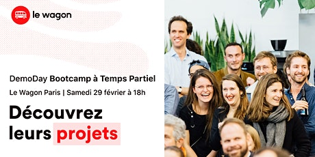 [Bootcamp à Temps Partiel] Le Wagon Demo Day tickets