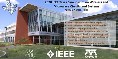 2020 IEEE Texas Symposium on Wireless and Microwave Circuits and Systems tickets