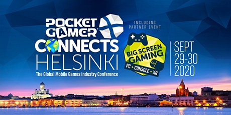 PG Connects Helsinki 2020 + Big Screen Gaming tickets