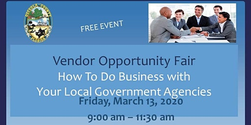 Vendor Opportunity Fair