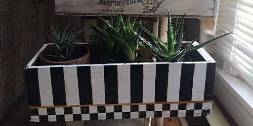 Paint Your Own Planter Box Class