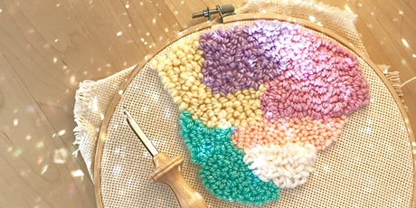 Punch Needle Wall Hanging Workshop tickets