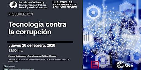 Presentación: Tecnología contra la corrupción boletos
