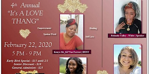 """4th Annual """"It's A Long Thang"""" Self Love & Self Care Women's Luncheon"""