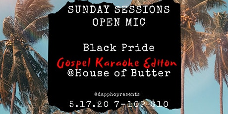 Sunday Sessions Open Mic: Black Pride Edition tickets
