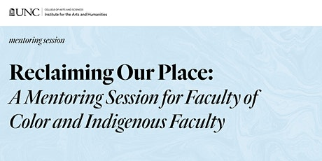 Reclaiming our Place: A Mentoring Session with Dr. Ruth Zambrana tickets