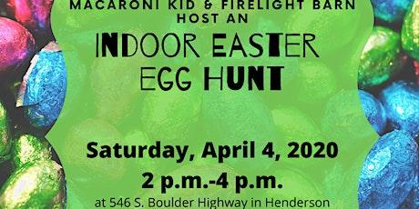 Indoor Easter Egg Hunt at Firelight barn tickets