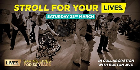 Stroll for your LIVES tickets