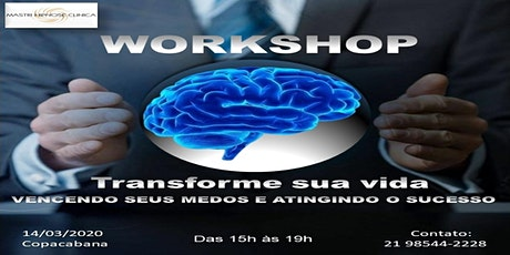 WORKSHOP TRANSFORME SUA VIDA ingressos