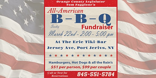 Tom Faggione All-American B-B-Q Fundraiser