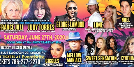80's REUNION FREESTYLE SUMMER CONCERT tickets