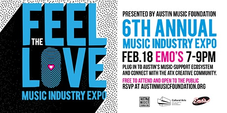 6th Annual 'Feel the Love' Music Industry Expo tickets