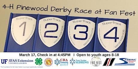 2020 4-H  Pinewood Derby Race at Fan Fest tickets