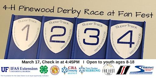 2020 4-H  Pinewood Derby Race at Fan Fest
