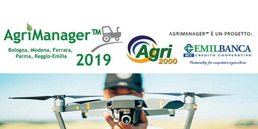 EVENTO CONCLUSIVO PROGETTO AGRIMANAGER™ 2019 PRONTI PER L'AGRICOLTURA SMART