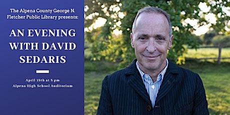 An Evening with David Sedaris tickets