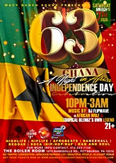 GHANA @ 63 INDEPENDENCE DAY CELEBRATION: A NIGHT IN AFRICA tickets