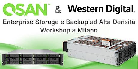 Enterprise Storage e Backup ad Alta Densità - WD & QSAN biglietti