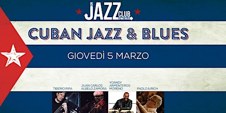 Cuban Jazz & Blues - Live at Jazzino for JCN20 biglietti