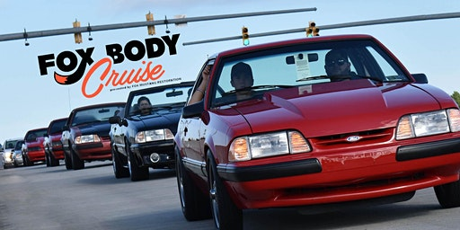 FOX-BODY CRUISE at Mustang Week 2020 presented by Fox Mustang Restoration