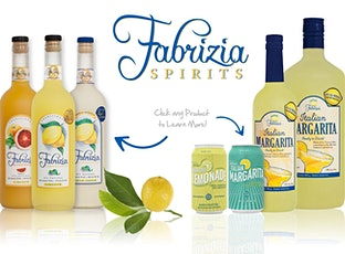 Fabrizia Limencello & Canned Wine Drink Tasting tickets