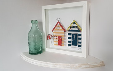 Beach Hut Frames - Glass Fusing Class tickets