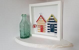 Beach Hut Frames - Glass Fusing Class