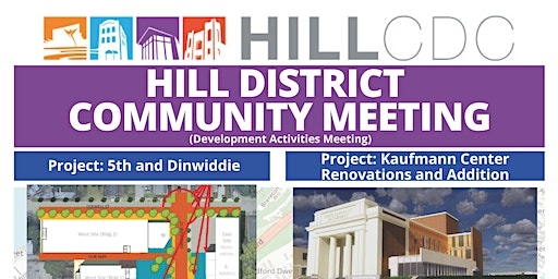 Hill District Community Meeting - February 20, 2020