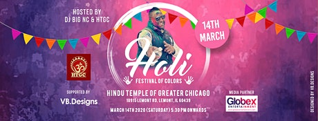 Holi 2020 Chicago tickets