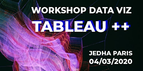 Data Viz : workshop Tableau Intermédiaire - Benjamin Delmée - Jedha Paris billets